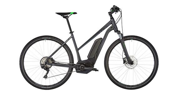 Cube Cross Hybrid Pro 400 Bicicletta elettrica da cross Trapez grigio